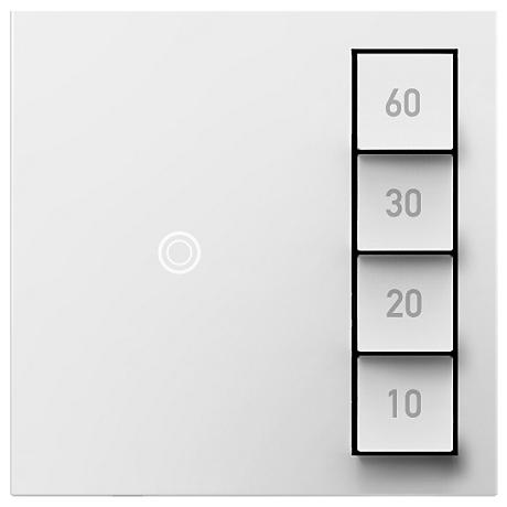 Adorne White Manual-On Timed-Off Sensa Switch