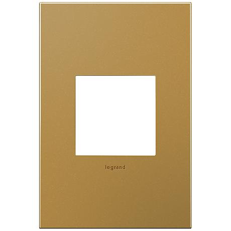 adorne® 1-Gang Satin Bronze Wall Plate