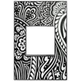 Adorne 1-Gang Magnesium Trim Customizable Wall Plate