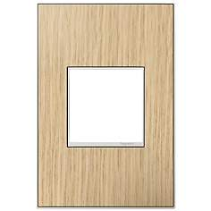 Adorne 1-Gang French Oak Wall Plate