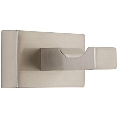 Axel Brushed Nickel Single Bathroom Hook