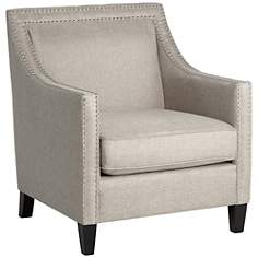 Flynn Heirloom Gray Upholstered Armchair