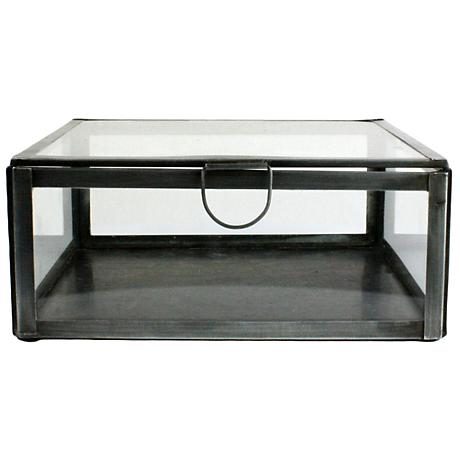 Pierre Small Square Clear Glass Case