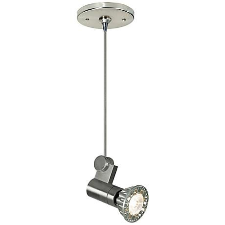 "Freejack Roto Head 2"" Wide Satin Nickel Mini Pendant"