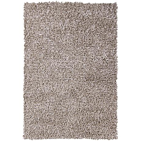 chandra zara zar14521 light brown shag area rug 6p505. Black Bedroom Furniture Sets. Home Design Ideas