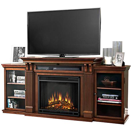 Real Flame Calie Entertainment Unit  Electric Fireplace