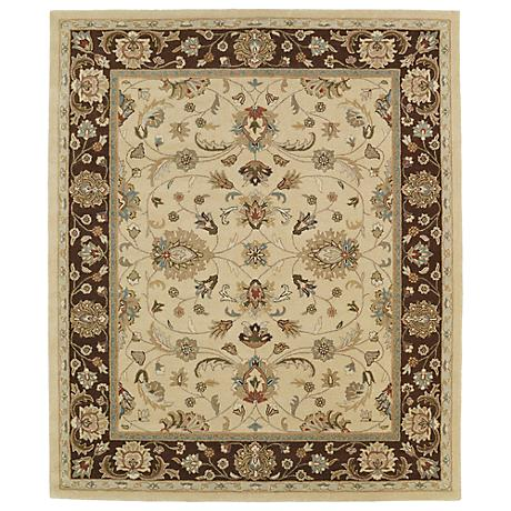 Kaleen Taj TAJ08-05 Gold Wool Area Rug