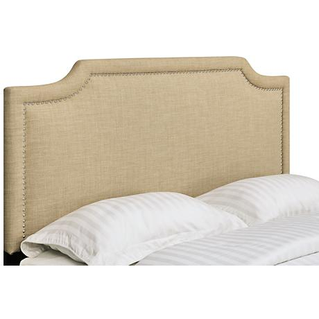 Ashton Heirloom Camel Queen Headboard