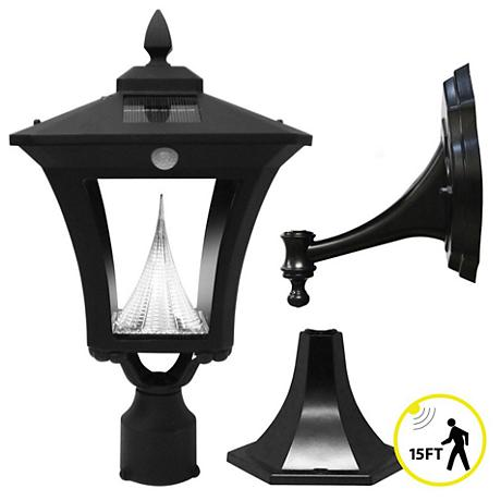 "Westin Solar 18 1/2"" High Black Tri-Mount Outdoor Light"