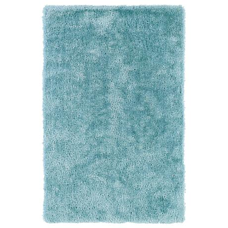 Kaleen Posh PSH01-79 Light Blue Shag Area Rug