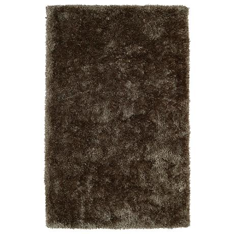 Kaleen Posh PSH01-82 Light Brown Shag Area Rug