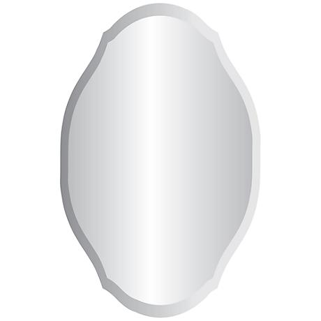 "Erath 24"" x 36"" Frameless Wall Mirror"