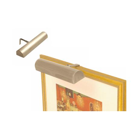 "Concept 11 1/2"" Wide Brass Cordless Picture Light"