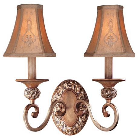 Jessica McClintock Salon Grand Two Light Wall Sconce