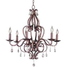 Cherie Collection Six Light Chandelier
