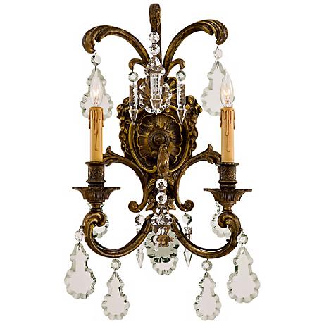 "Metropolitan Collection 24"" High 2-Light Wall Sconce"