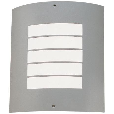 "Kichler Contemporary Brushed Nickel 10 1/2"" Outdoor Light"
