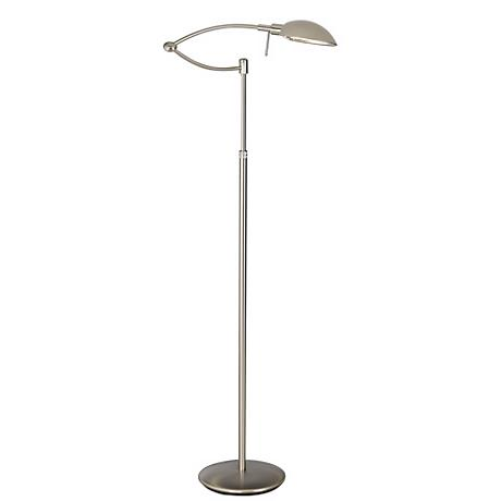 Punkt 1 Brushed Nickel Pharmacy Holtkoetter Floor Lamp