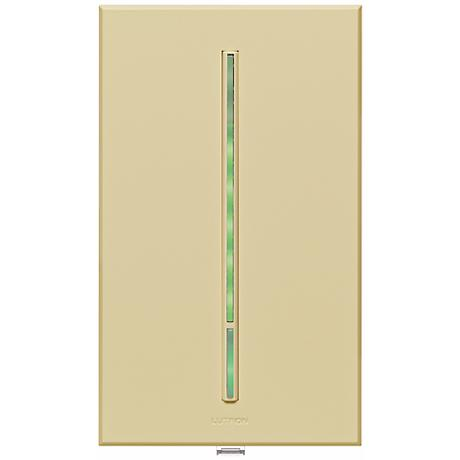 Lutron Vierti Green LED Almond Companion Control