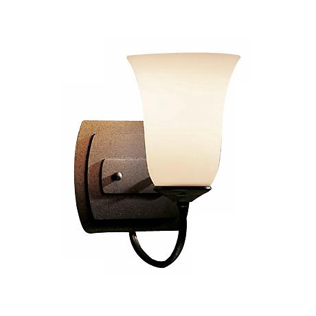 "Hubbardton Forge Natural Iron  9"" High Wall Sconce"