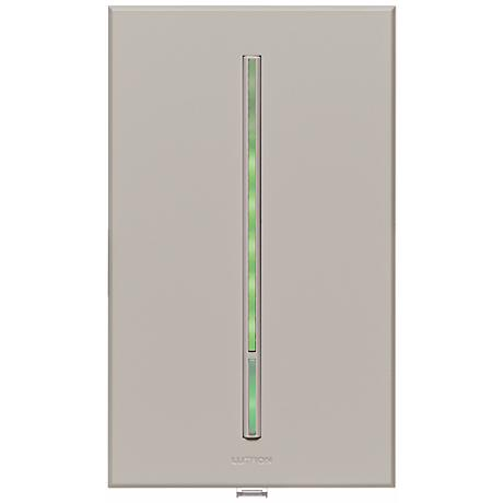Lutron Vierti Green LED Multilocation Gray Companion Control