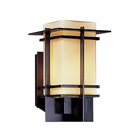 "Hubbardton Forge Tourou  11"" High Outdoor Wall Light"