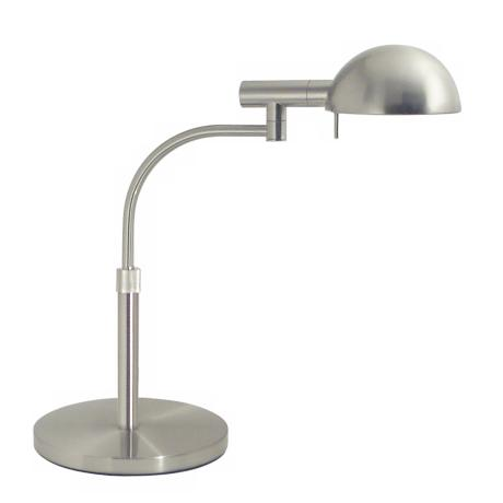 Sonneman Satin Nickel Adjustable Desk Lamp