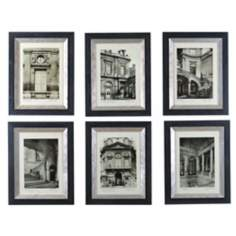 Uttermost Set of Six Paris Art Prints