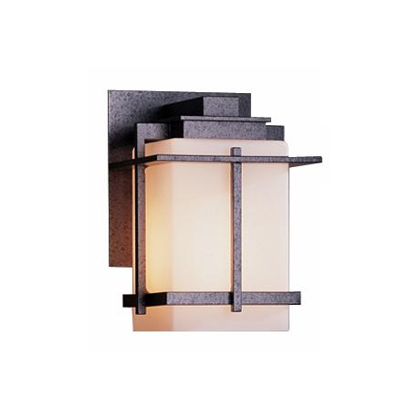 "Hubbardton Forge Tourou 7 1/2"" High Outdoor Wall Sconce"