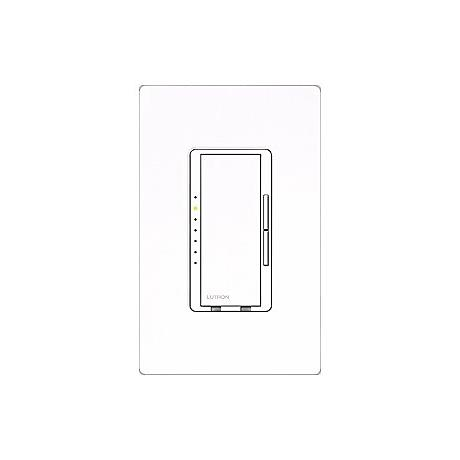 Lutron Maestro White 600 Watt Low Voltage Magnetic Dimmer