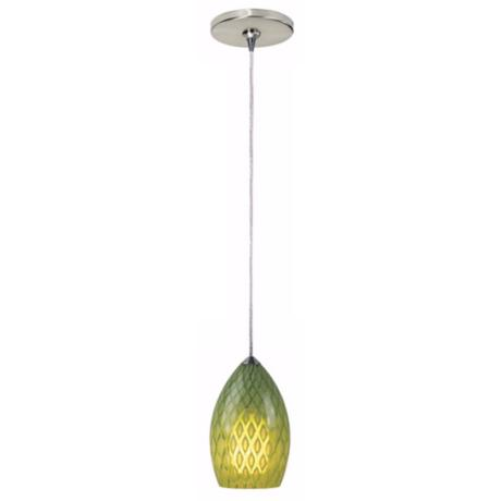 Firebird Collection Parrot Tech Lighting Mini Pendant