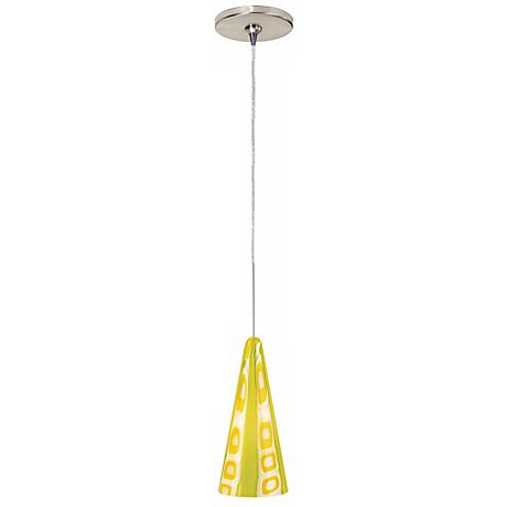 Green Niko Tech Lighting Mini-Pendant Chandelier