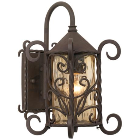 "Casa Seville™ Iron Scroll 13 1/4""H Outdoor Light"