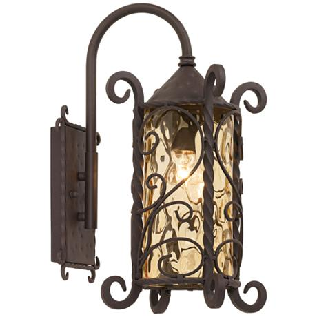 Casa Seville Iron Scroll 18 1 2 Quot High Outdoor Light