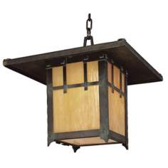 "Oak Knoll Collection 13"" High Outdoor Hanging Light"