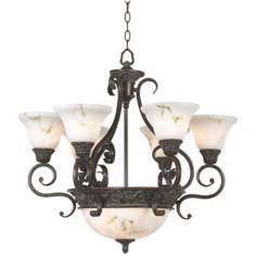 Apollo Collection Eight Light Chandelier