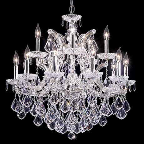 "James R. Moder Maria Theresa Grand 29"" Wide Chandelier"