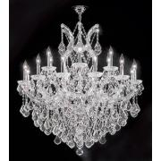 "James R. Moder 37"" Wide Maria Teresa Grand Chandelier"