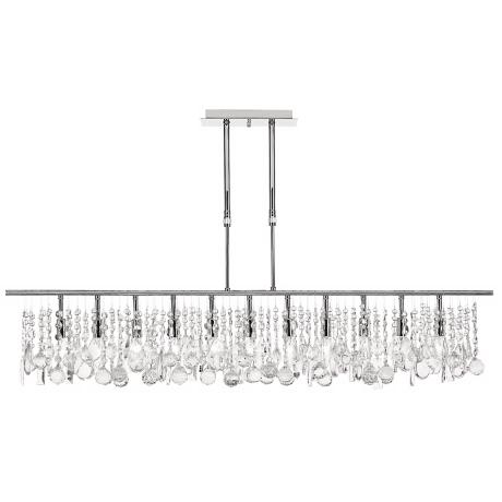 "Luminous Collection 48"" Wide Crystal Chandelier"