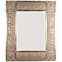 "Uttermost Harvest Serenity 60"" High Champagne Wall Mirror"