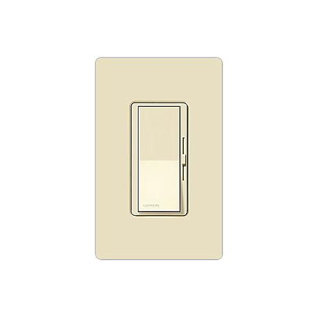 Lutron Diva Almond Single Pole Low Voltage Magnetic Dimmer
