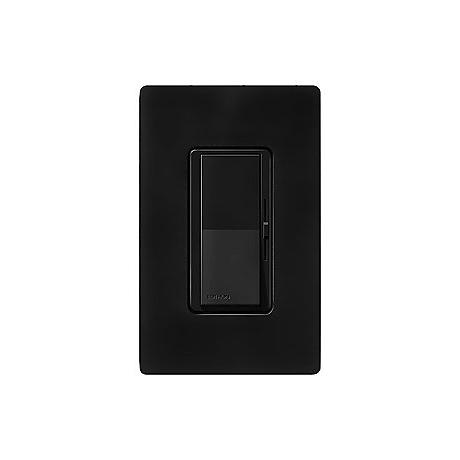 Lutron Diva Matte Black SC 1000 Watt 3-Way Dimmer