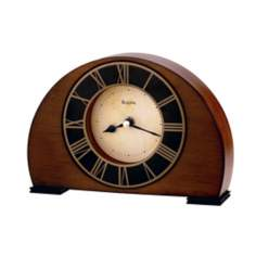 "Bulova Tremont 8 1/4"" Wide Tabletop Clock"