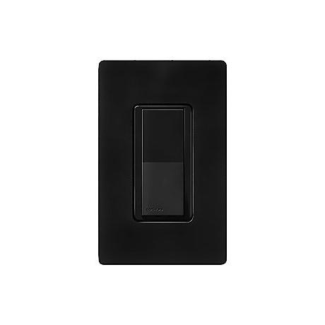 Lutron Diva Midnight Black SC 3-Way Switch
