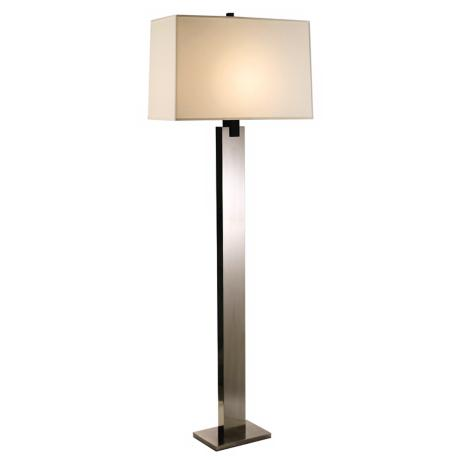 Sonneman Monolith Floor Lamp Black Nickel