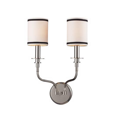 "Tribeca Collection 19"" High 2-Light Wall Sconce"