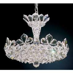 "Schonbek Trilliane Collection 16"" Wide Crystal Chandelier"