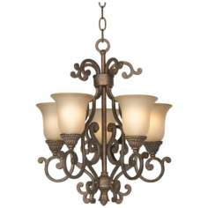 "Larissa Collection 15 1/2"" Wide Mini Chandelier"