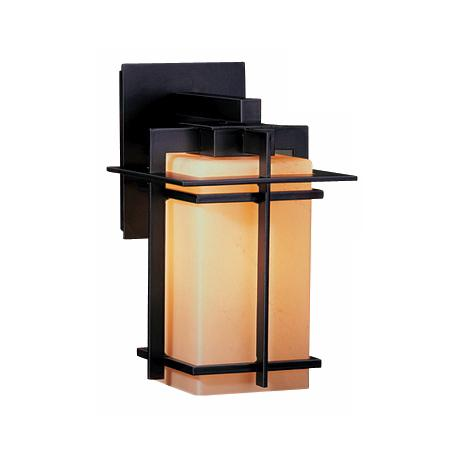 "Hubbardton Forge Tourou 11 1/2"" High  Outdoor Wall Light"