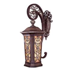 "Jessica McClintock 31 3/4"" High Bronze Outdoor Wall Light"
